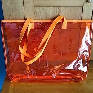 Clinique Tote - orange